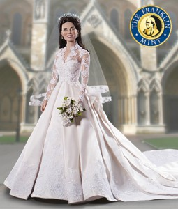 Кейт Миддлтон увековечили в образе невесты