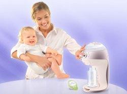 Кофемашина для младенцев. Фото с сайта Babynes