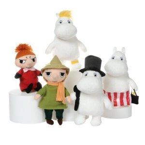 Коллекция плюшевых Муми-троллей пополнится к Рождеству