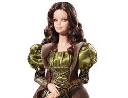 Барби в образе Моны Лизы.Фото с сайта Barbie Collector