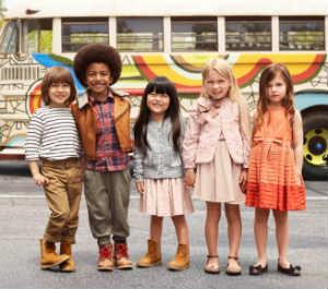 Промо новой коллекции для детей от H&M. Фото с сайта Lilsugar
