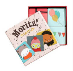 Memo с рисунками из книжки Moritz. Фото с сайта Lilsugar