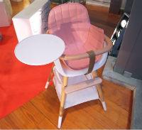 """Ovo High Chair в """"девочковой"""" расцветке"""