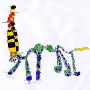 Победитель конкурса Little Project - гремучий змеемедведь в шляпе
