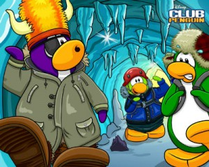 Club Penguin. Фото с сайта игры