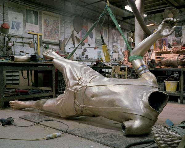 В мастерской скульпторов. Фото со страницы Четвертого постамента на Facebook