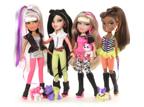 Новые куклы Bratz