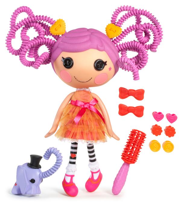 Lalaloopsy Кукла с волосами пружинками