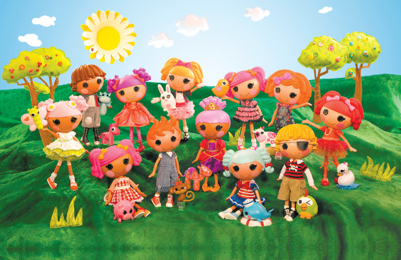 Lalaloopsy collection with new dolls