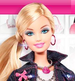 Барби в 2012 году - модный дизайнер. Скриншот сайта Barbiewow.com