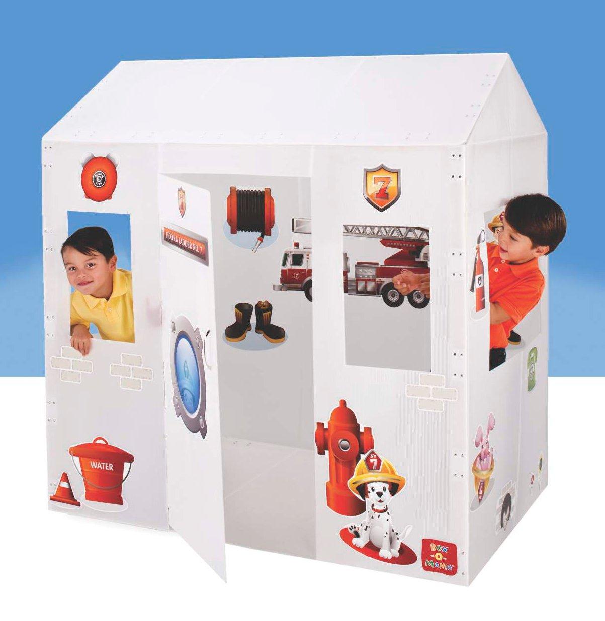 Полипропиленовый домик с наклейками Boxomania