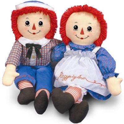 Тряпичные Энн и Энди