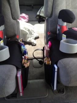 Flort защищает автомобиль от последствий детских шалостей. Фото с сайта theoddmomout.com