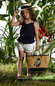 Модная девочка лета-2012 по версии Gucci. Фото с сайта childmode.com