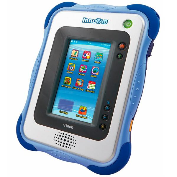 Детский планшет Innotab2, на котором можно слушать музыку, играть в игры и смотреть мультфильмы