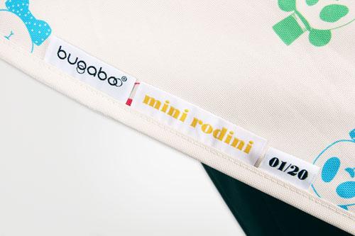 Ярлычок и номерная бирка на капюшоне Bugaboo + Mini Rodini
