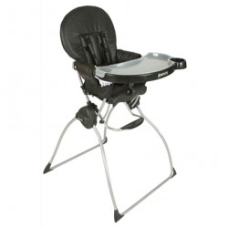 Black Leatherette Nook Highchair