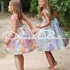 Рекламное фото весенней коллекции детской одежды Oscar de la Renta