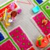 Play House Pink Rug. Фото с сайта Giggle.com