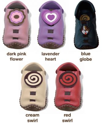 Расцветки ботиночек Shupeas