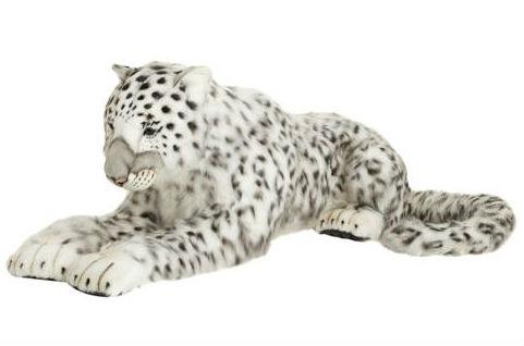 Hansa Large Lying Mamma Snow Leopard