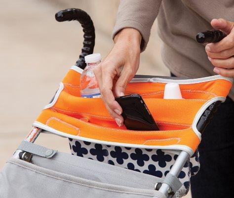 Infantino Stretch - мягкий органайзер для коляски
