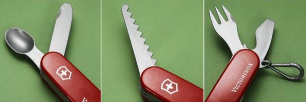 У детского ножика Victorinox 6 инструментов