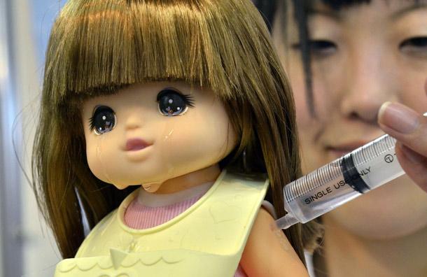 Кукла Юме-чан. Фото с сайта GrowingYourBaby.com